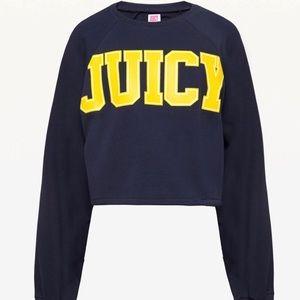 JXJC Cutoff JUICY Terry Pullover